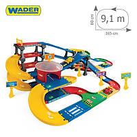 "Паркинг ""Kid Cars 3D"" с трассой 9,1м  Wader"
