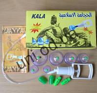 Вакуумные антицеллюлитные массажные банки 6 штук с насосом KALA