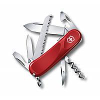 Victorinox Викторинокс нож Delemont Evolution S13 14 предметов 85 мм красный нейлон