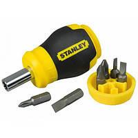 STANLEY 0-66-357 Отвертка STANLEY Multibit Stubby с 6-ю сменными битами
