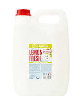 Средство для мытья посуды Lemon Fresh Без красителя 5л