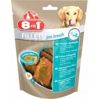 8in1 Fillets Pro Breath S куриное филе для свежего дыхания, 80г
