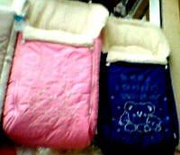 Зимние конверты на овчине,конверты в санки S105