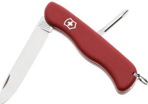 Надежный складной нож Victorinox Cowboy 08923 красный