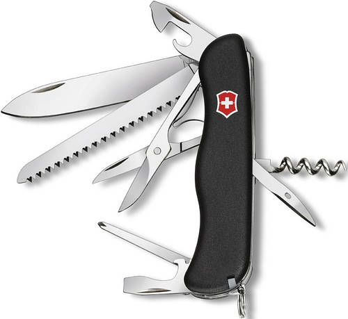 Складной оригинальный нож Victorinox Outrider 09023.3 черный