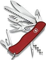 Складной качественный нож Victorinox Hercules 09043 красный