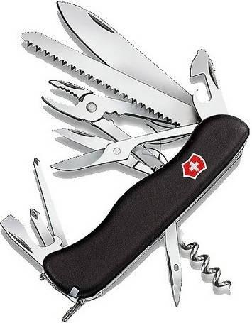 Складной надежный нож Victorinox Hercules 09043.3 черный