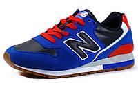 Кроссовки New Balance мужские комбинированные, темно-синие/синие, фото 1
