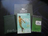 Мужской мини-парфюм в кожаном чехле Lacoste Essential Man 20ml