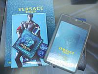Мужской мини-парфюм в кожаном чехле Versace Eros 20ml