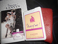 Женский мини-парфюм в кожаном чехле Lanvin Marry Me 20ml