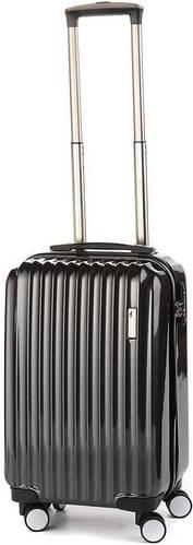 Пластиковый малый чемодан на 4-х колесах 35 л. Sumdex (Самдекс) SWR-723CB черный