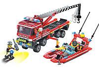 """Конструктор Brick 907 """"Пожарные спасатели"""""""
