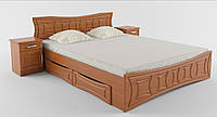 Кровать 2-х спальная  без шухляд Созвездие (без матраца)