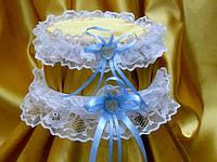 Свадебная подвязка невесты (2 шт.)