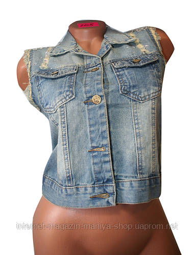 Жилетка джинсовая (женская)