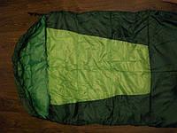 Спальный мешок для туризма, длина 215 см, капюшон, полиэстер + утеплитель, для весны/осени, чехол в комплекте