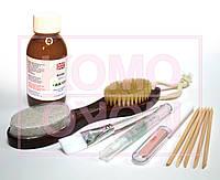 Биопедикюр.Набор для педикюра и маникюра: биогель 120мл, кисть, европемза, масло, полировщик 4в1, палочки.