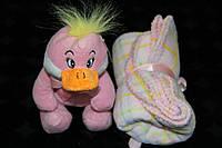 Плед ARYA Duck детский с игрушкой 1200209