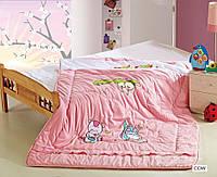 Детское одеяло из бамбука ARYA Cow для девочек 155x215 см 1250121