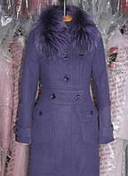 Женская куртка Зимнее Пальто кашемировое 48, 50