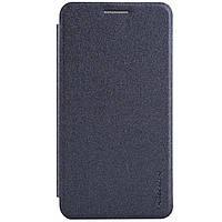 Кожаный чехол книжка Nillkin Sparkle для Samsung Galaxy A3 A300 черный, фото 1