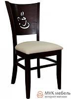 """Классический стул """"Амбер"""" (КЗ кремовый) (венге)"""