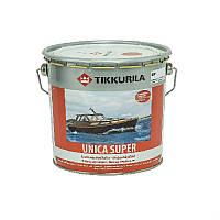 Лак алкид-уретановый TIKKURILA UNICA SUPER яхтовый, полуглянцевый, 2,7л