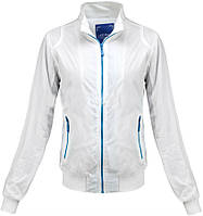 Ветровка женская весенняя белая ,спортивная женская куртка