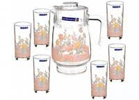 Набор для напитков Luminarc 75221 / D1301 Elise 7 предметов на 6 персон