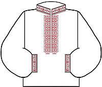 Заготовка для вышивки мужской сорочки 4