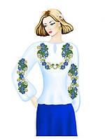 Заготовка женской блузи вышиванки 058