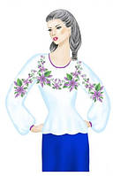 Заготовка вышивки женская под бисер или нитки 071