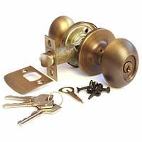 Ручка-защелка Апекс 6093-01 AN (ключ)