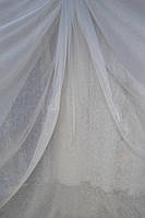 Тюль Изморозь белая кристалон