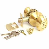 Ручка-защелка Апекс 6093-01GM (ключ)