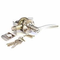 Ручка-защелка Апекс 8023-01 CR (ключ)