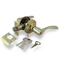 Ручка-защелка Апекс 8023-01 G (ключ)