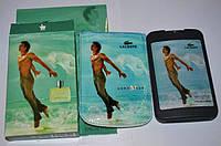 Мужские духи-планшет в чехле Lacoste Essential Man
