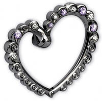 Крючек для сумки Jardin D`Ete «Яркое сердце»