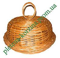 Хлебница круглая из лозы Арт.437