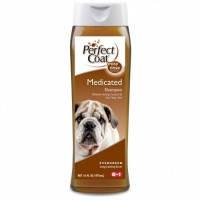 8in1 Medicated Shampoo Fresh Pine шампунь дегтярный для собак, 473мл