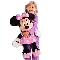 Мягкая игрушка Минни Маус - 70см. Disney - розовый