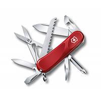 Victorinox Викторинокс нож Delemont Evolution 18 15 предметов 85 мм красный нейлон