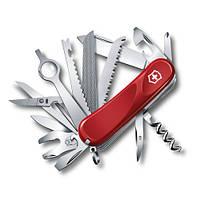 Victorinox Викторинокс нож Delemont Evolution 28 24 предмета 85 мм красный нейлон