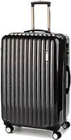 Пластиковый чемодан-гигант для всей семьи на 4-х колесах 112/117 л. Sumdex (Самдекс) SWR-725CB черный