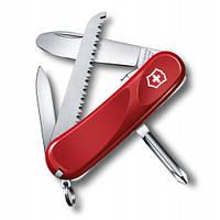 Victorinox Викторинокс нож Delemont Junior 09 8 предметов 85 мм красный нейлон