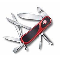 Victorinox Викторинокс нож Delemont EvoGrip 16 14 предметов 85 мм красно черный нейлон