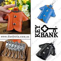 """Ключница из натуральной кожи - """"Key Bank"""""""