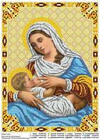 """""""Пресвятая Богородица Кормящая"""". Схема для вышивки бисером"""